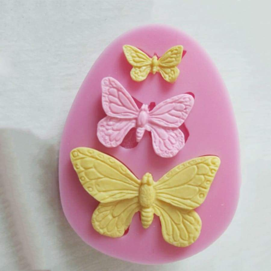 1Pcs Sugarcraft Butterfly Silicone Molds Fondant Mold Cake Decorating Tools Chocolate Moulds Wedding Decoration Mould