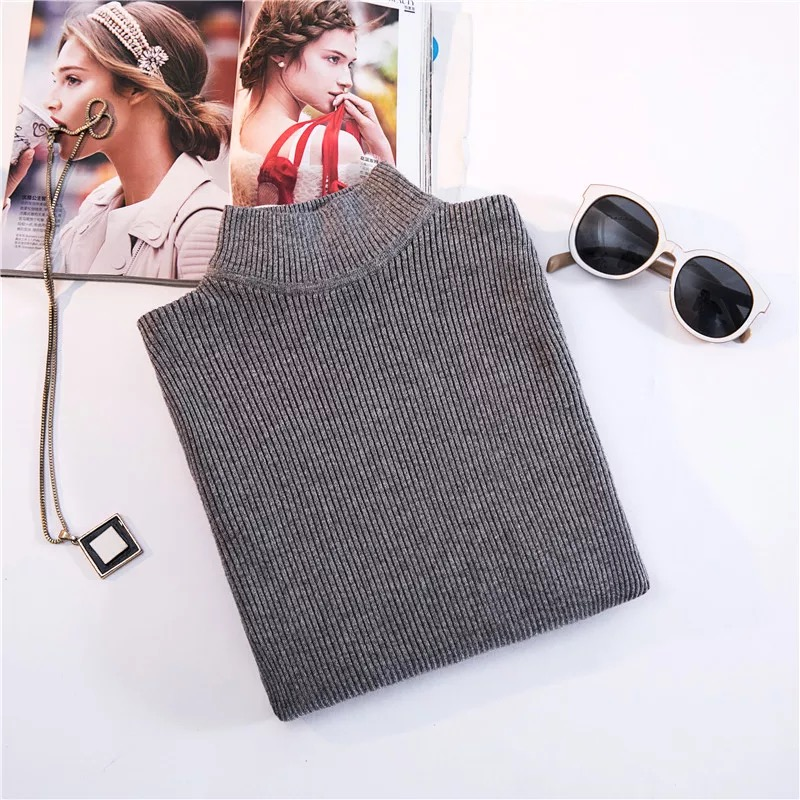 Turtleneck Pullovers Sweaters