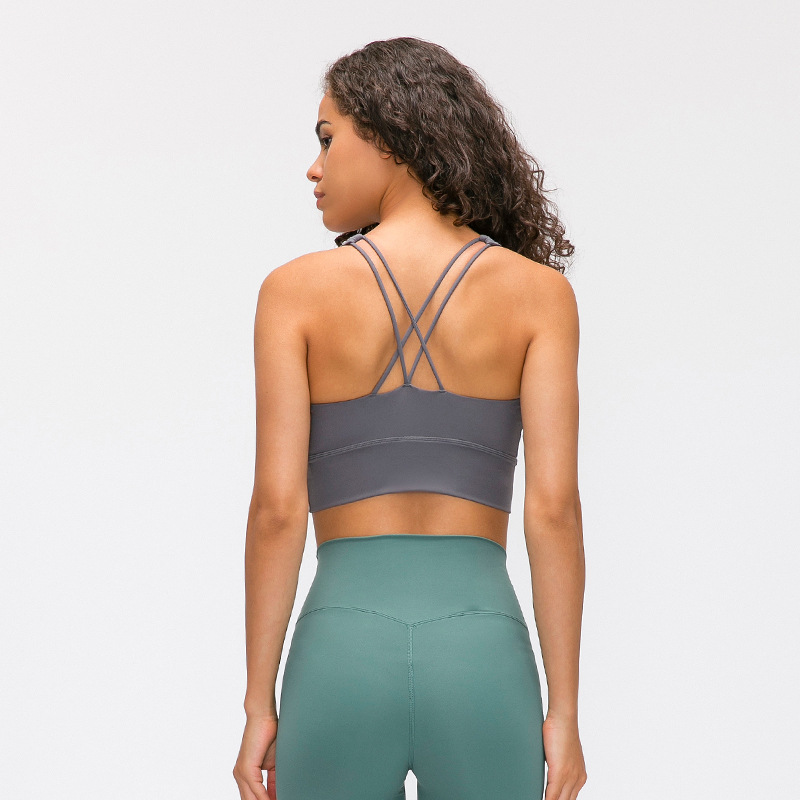 Sports Bra for Women Sexy Crisscross for Yoga Running Athletic Gym Workout Fitness Tank Tops