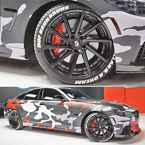 3D Stereo Car Tire Stickers