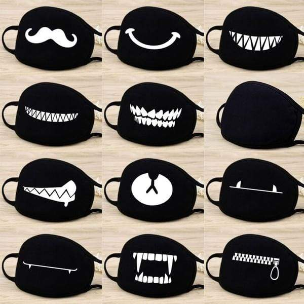 Cute Face Masks  Cotten Half Face Mouth Muffle Fashion Mask