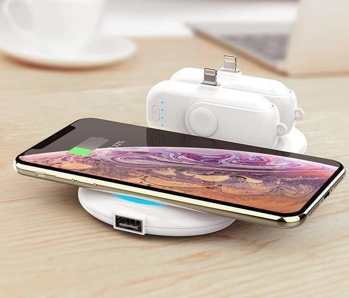 (A set of free shipping)Portable magnetic 4-in-1 mobile power supply---(SUITABLE FOR ALL PHONE MODELS)
