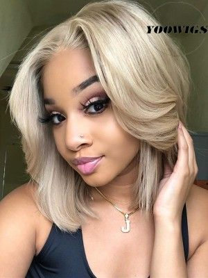 Lace Front Wigs Blonde Hair Dye Good Blonde Wigs Short Blonde Hair With Dark Roots
