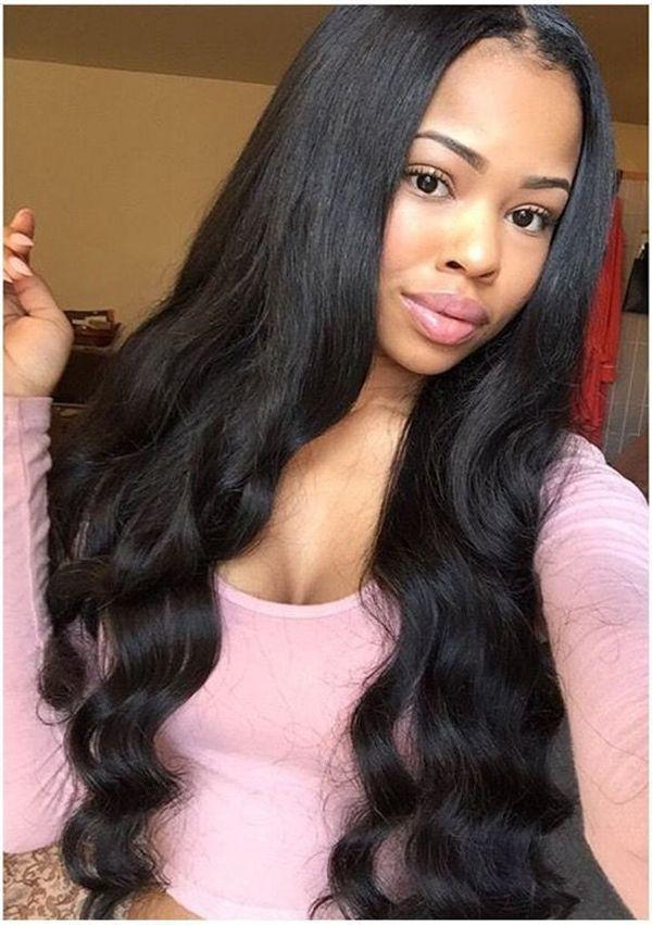 Human Hair Swiss Lace Wigs Dark Burgundy Lace Front Wigs