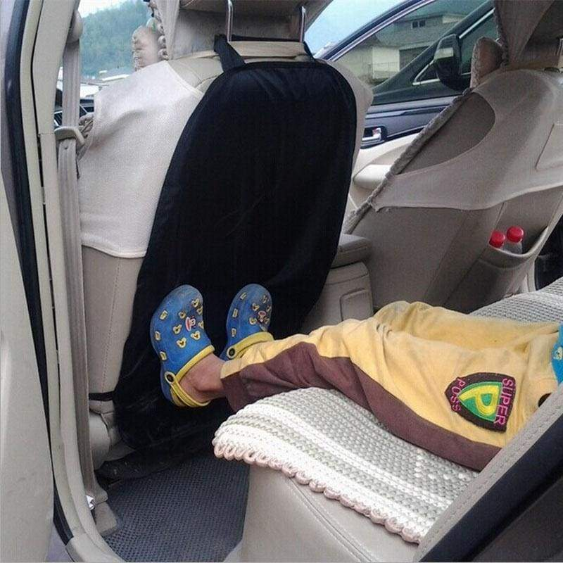 Car Auto Care Seat Back Protector Cover For Children Kick Mat  Mud Clean or car Safety Belt Clip
