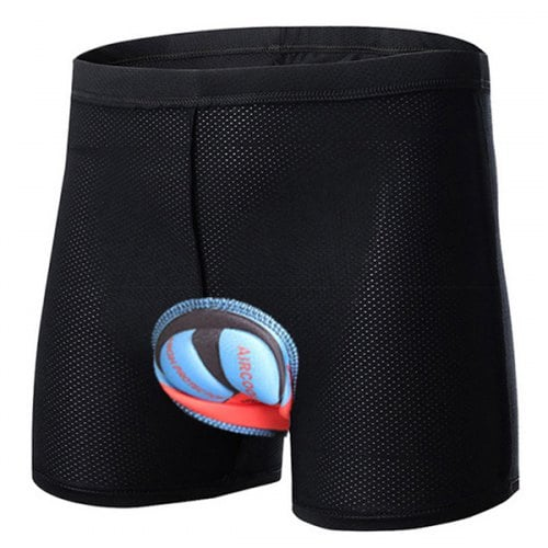 SKRTEN 3D Quick Dry Breathable Cycling Underpants - Black
