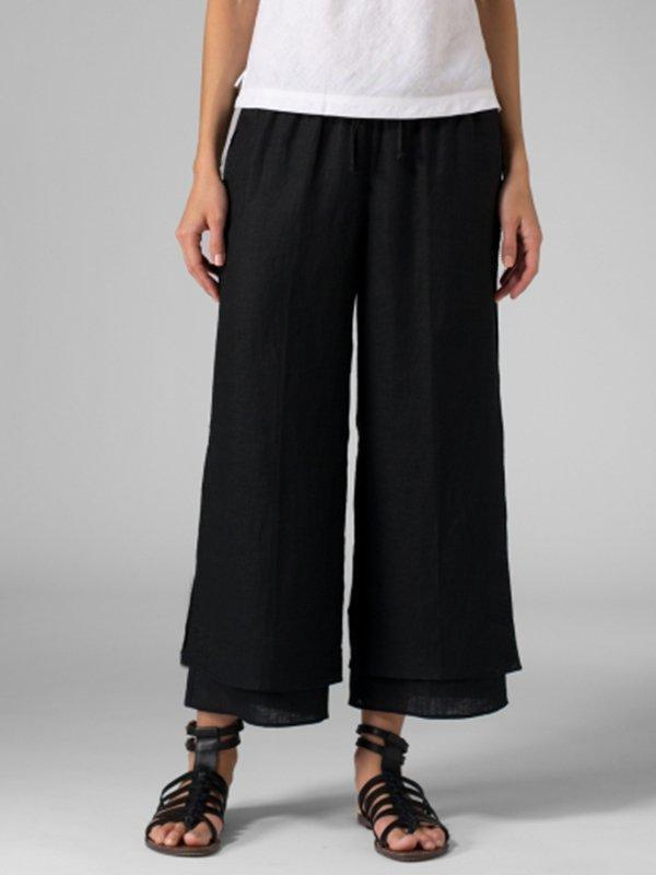 Summer Casual Plus Size Pants