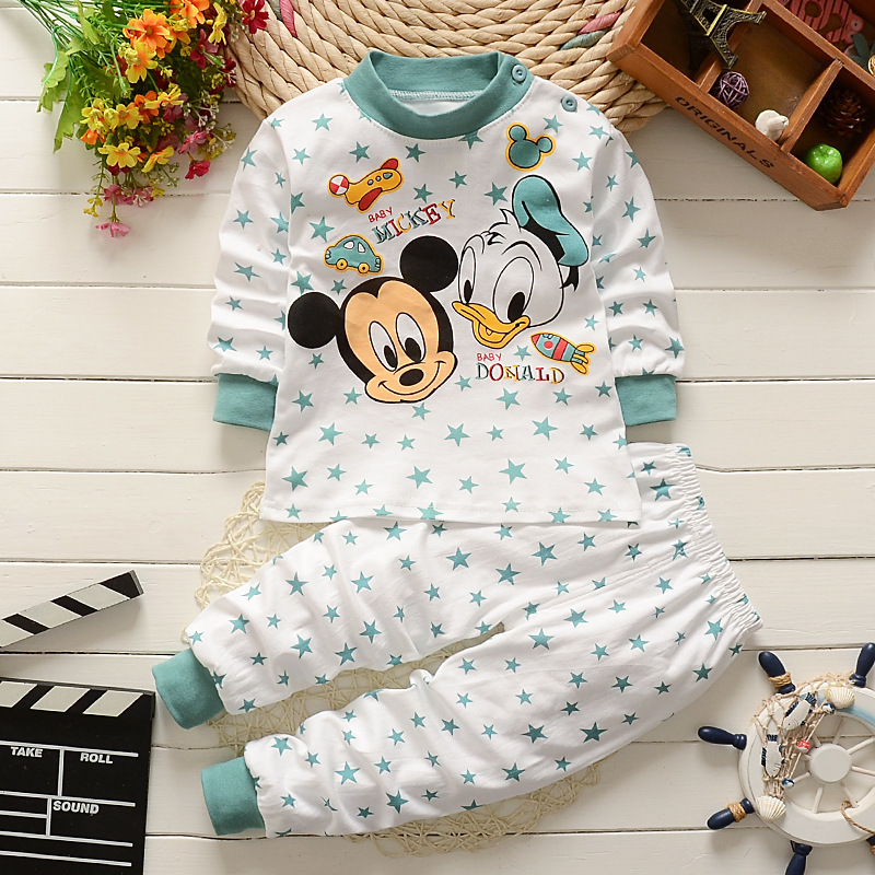 0-2year Baby Clothes Set Winter Cotton Newborn Baby Boys Girls-CS001