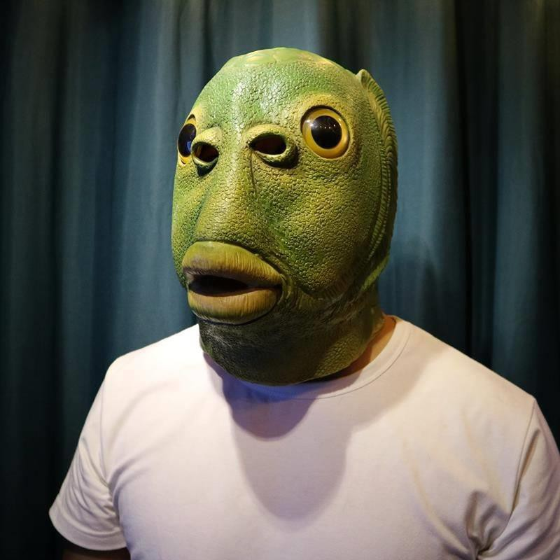 🔥Hot Sale🔥Funny Fish Head Party Mask