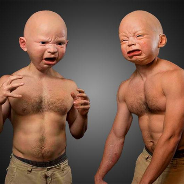 The Hottest Baby Head Masks in America in Halloween