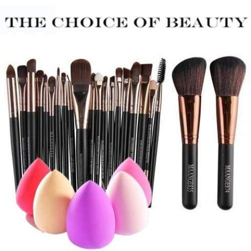 6/15/20pcs/set Makeup Brush Set tools Make-up Toiletry Kit Wool Make Up Brush Sets