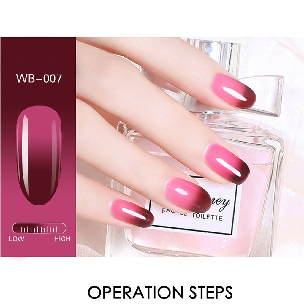Vibrant Thermal Nail Polish【BUY 5 FREE SHIPPING】