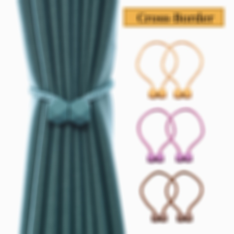 Stay Smart Way Magnetic Curtain Tie Back