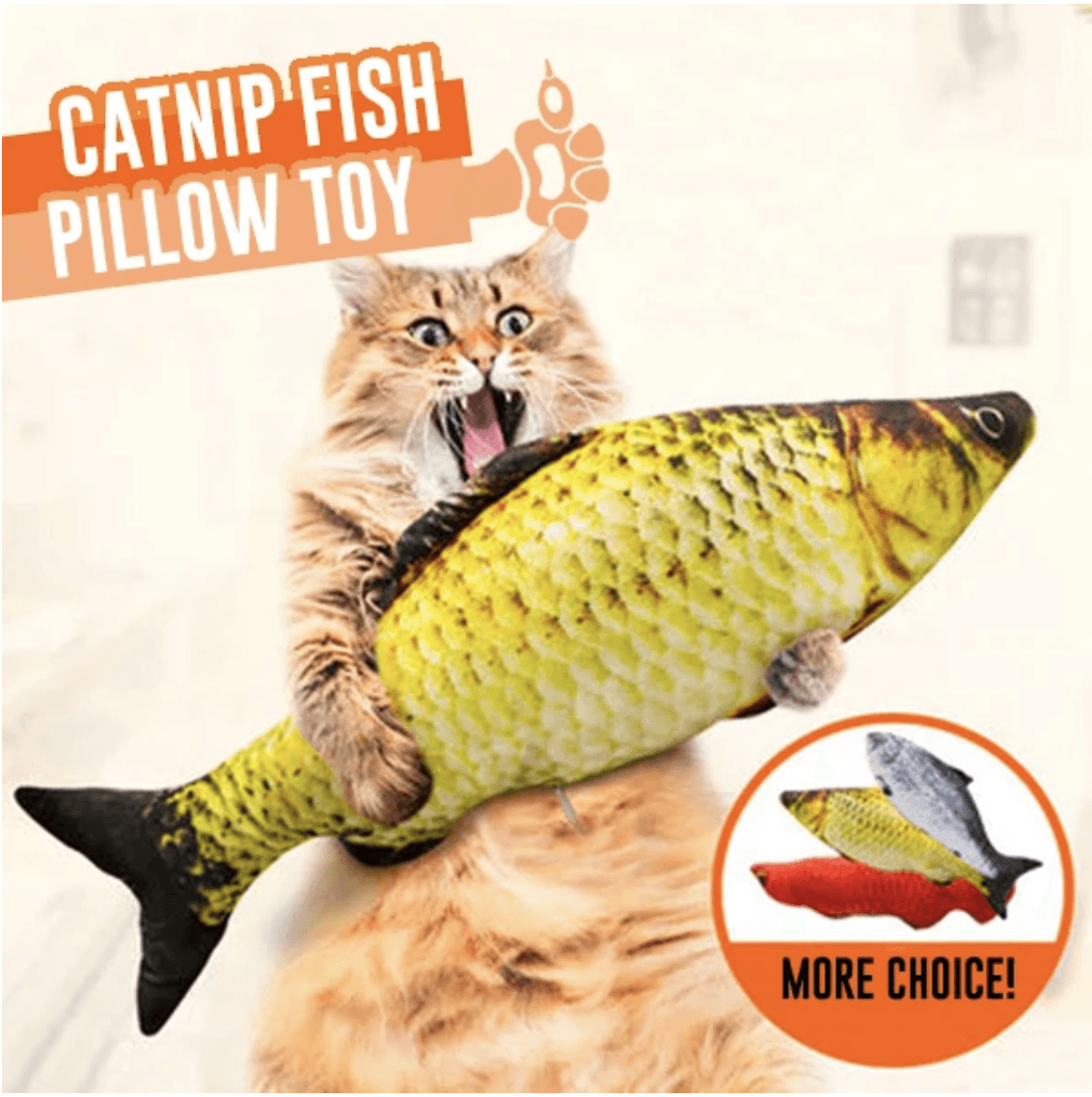Cat Kicker Fish Toy🐱Buy more than 4 get 20% off🐱