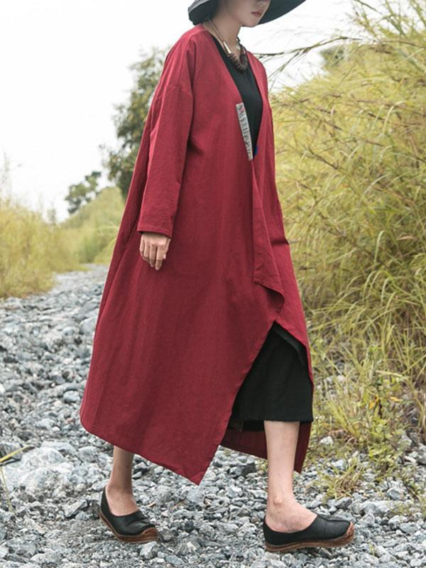 Wisely Tied Collared Coat
