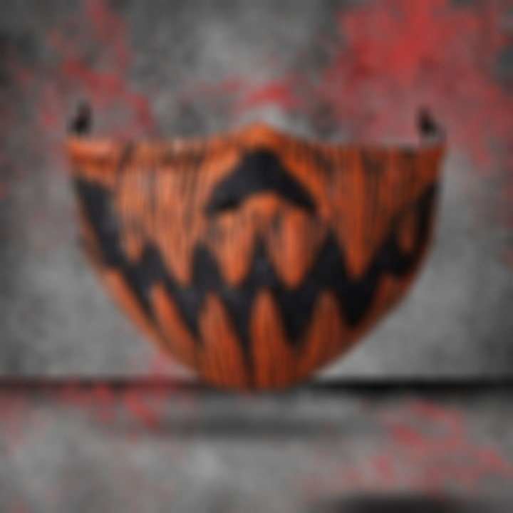 HALLOWEEN FABRIC FACE COVER