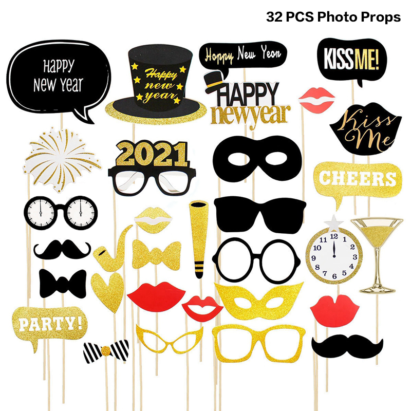 Decorations For Home Happy New Year Eve Party 2021 Decoration