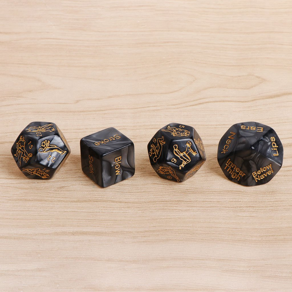 😍Game Dice For Lovers (4PC)