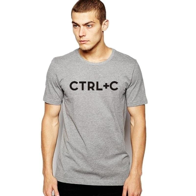 Ctrl+C and Ctrl+V Daddy Baby Copy Paste Matching T-Shirt Funny Father Son Family Shirt Summer Casual Shorts Sleeves Outfits Tops Creative Gifts
