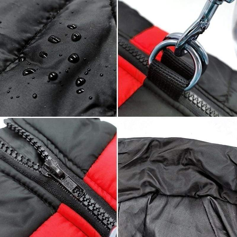 S-7XL Dog Winter Warm Clothes Zipper Waterproof Dog Vest Small Dog Medium Dog Large Dog Clothes Small Dog Thick Clothes