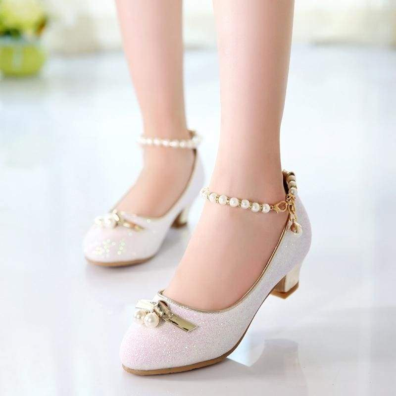 New Style Girls Fashion High Heel Shoes