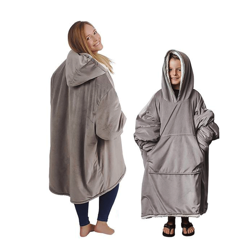 Giant Blanket Blend Hoodie Big Pocket Comzy