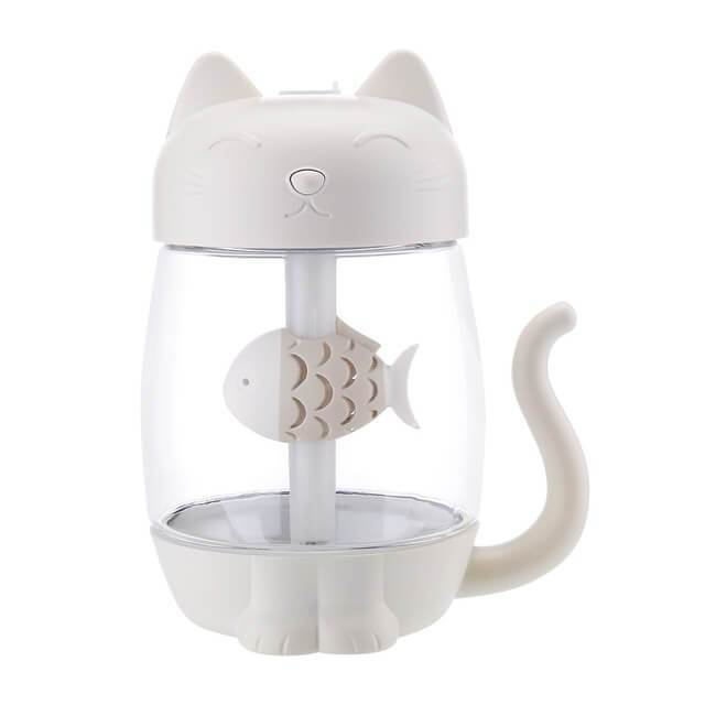 3 In 1 Cute Cat Aroma Humidifier