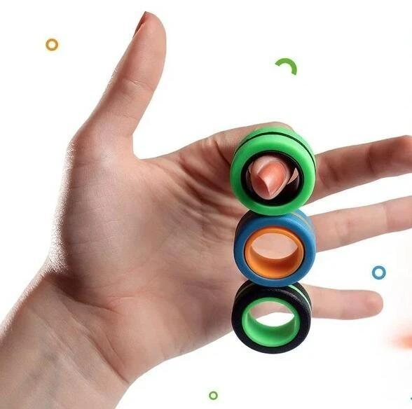 Amazing Magnetic Rings