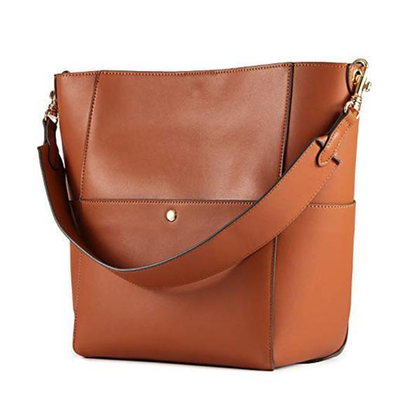 SOUTUER Leather Handle Tote Bag - SS229T
