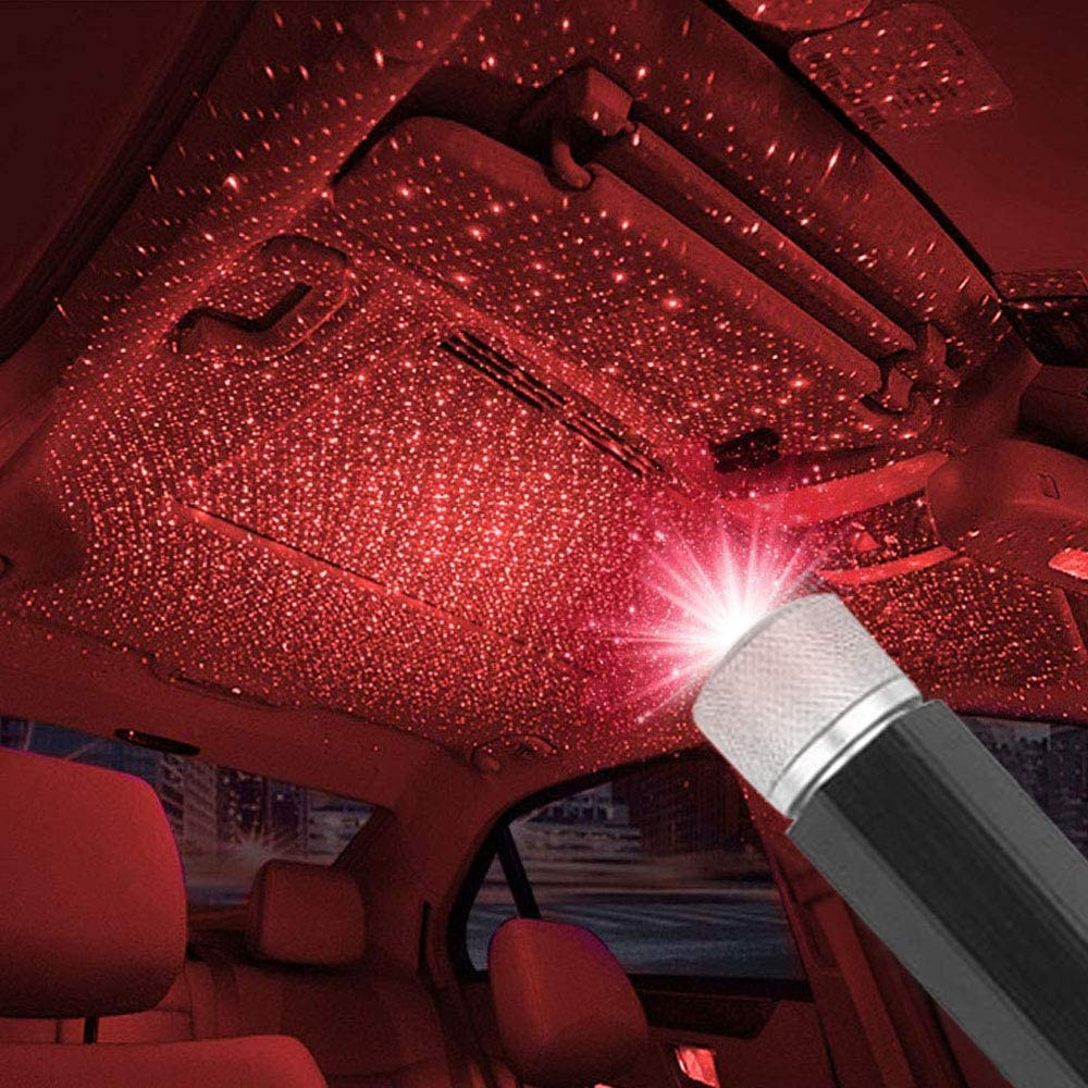 Plug and Play- Car and Home Ceiling Romantic USB Night Light !