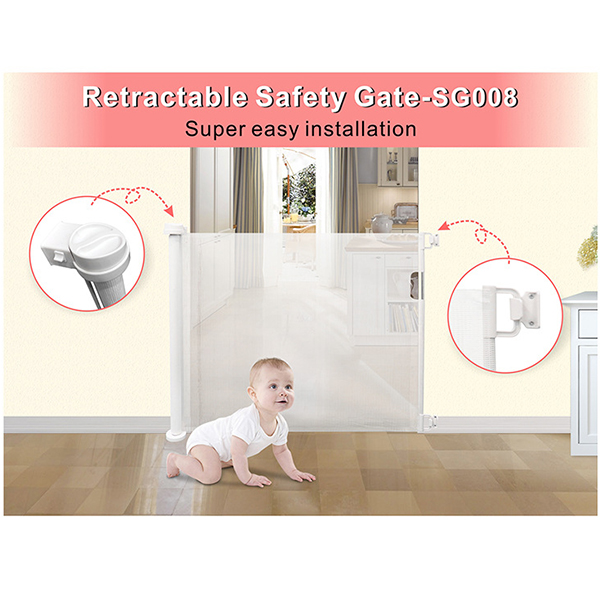 Portable Kids & Retractable Safety Gate ( FREE SHIPPING🔥PROMOTIONS🔥)