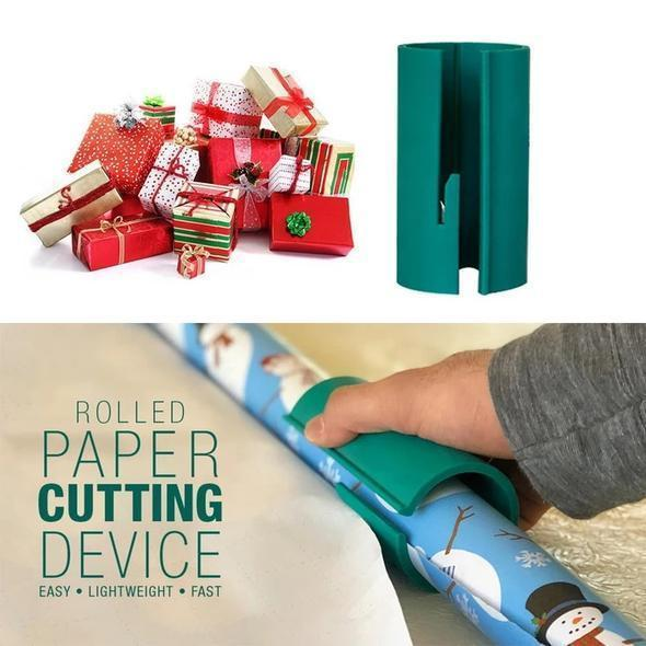 Unique Sliding Wrapping Paper Cutter 50%OFF
