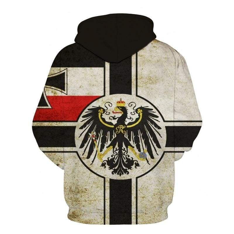 2019 Autumn Retro Federal Republic of Germany Flag 3D Hoodies Men/Women Couple Lovers Models Fashion Round neck Flag Sweatshirt