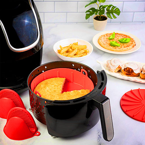 (50% OFF) Air Fryer Silicone Pot
