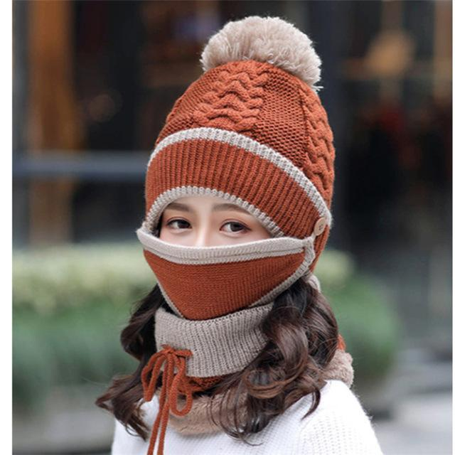 🎅 (Early Christmas Sale--Save 30% OFF)--3PCS Womens Winter Scarf Set