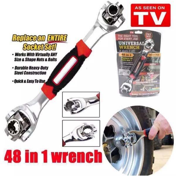 48 In 1 Universal Wrench-Last Day Promotion 50% Off!