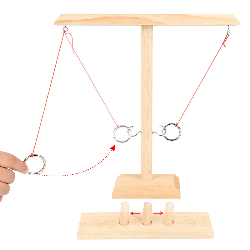2021 Current Trends Ring Toss With Shot Ladder Bundle Game(All 3 Pieces)❤️Buy 2 get an Extra 20% OFF