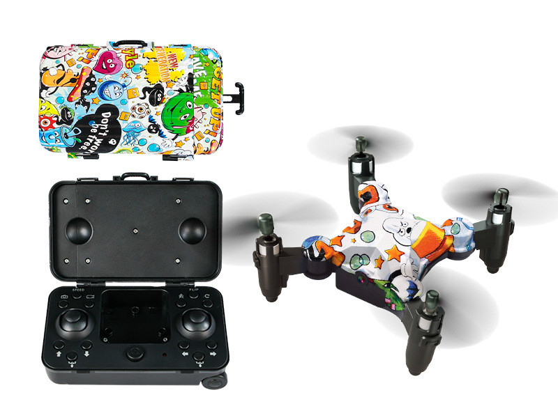 [60% OFF NOW] Foldable Mini Suitcase Drone
