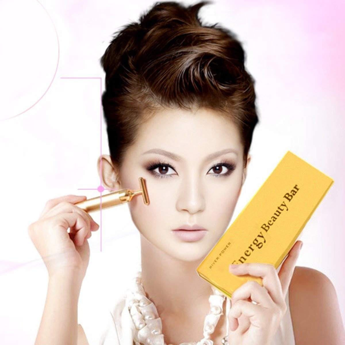 Gold Beauty Bar Anti Wrinkles Face Lift Skin Tightening Face Firming