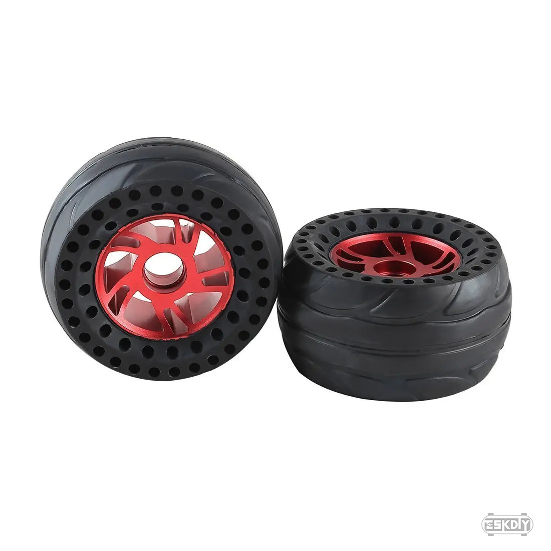 RS125 Airless Rubber Wheels Set for Belt Drive-All Terrain