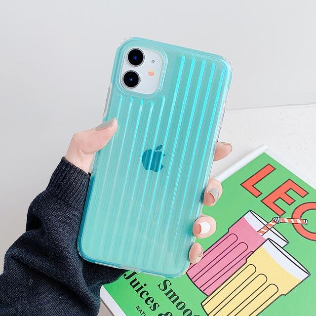 Clear Stripes Shockproof Case