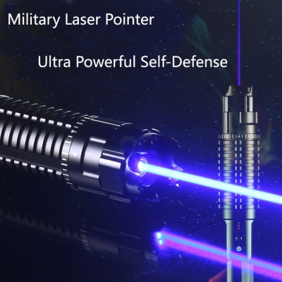 High energy laser pointer