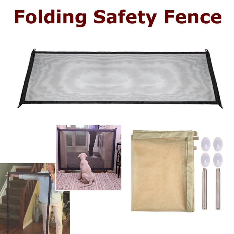 PORTABLE KIDS &PETS SAFETY DOOR GUARD🐶