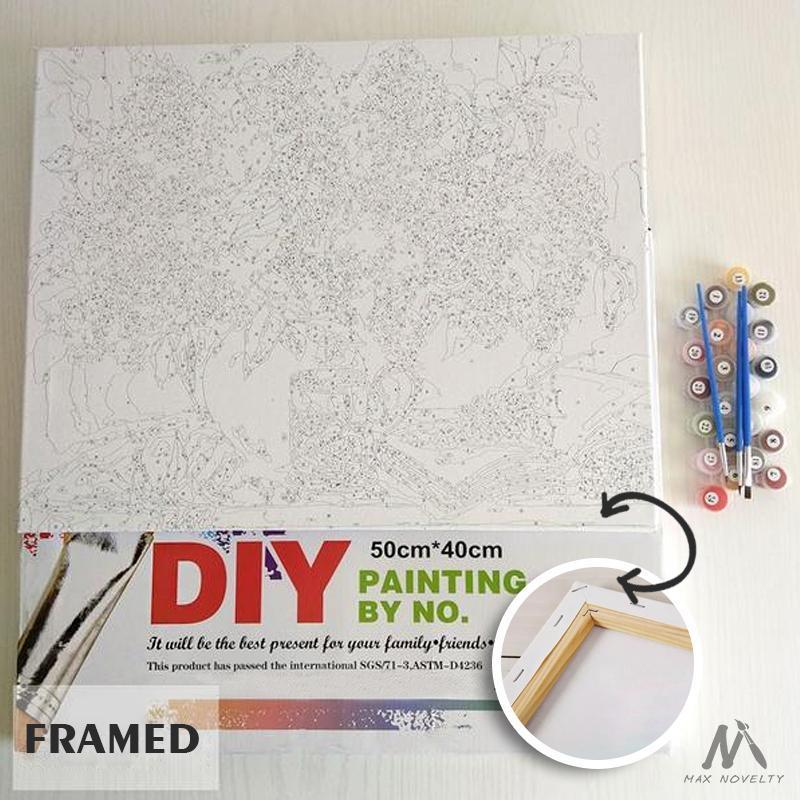 DIY Painting By Numbers - Fairyland (16