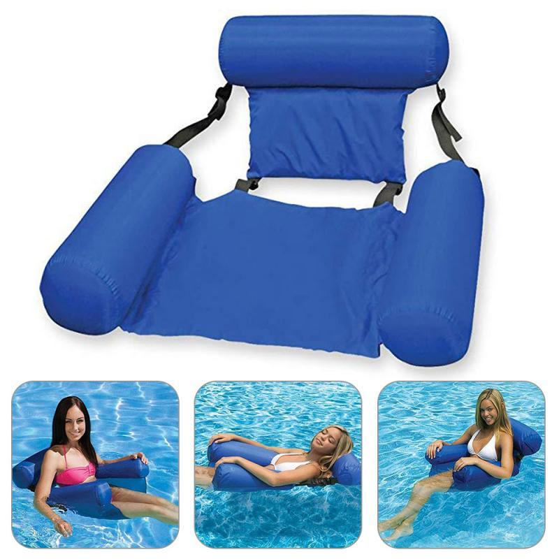 Swimming Floating Bed and Lounge chair (adjustable + Collapsable ...