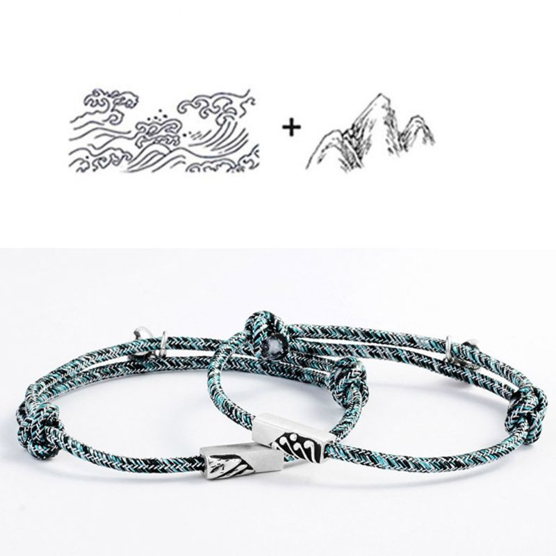 (50% OFF SALE) Braided Couple Magnetic Bracelet