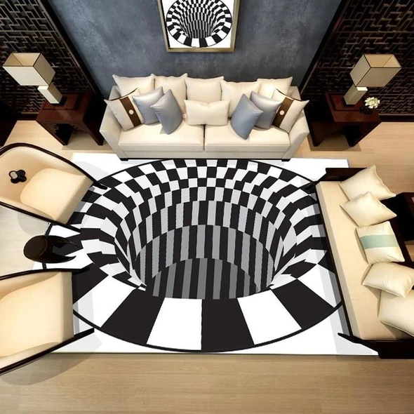 💥50% OFF🔥-Vortex Illusion Rug🌪