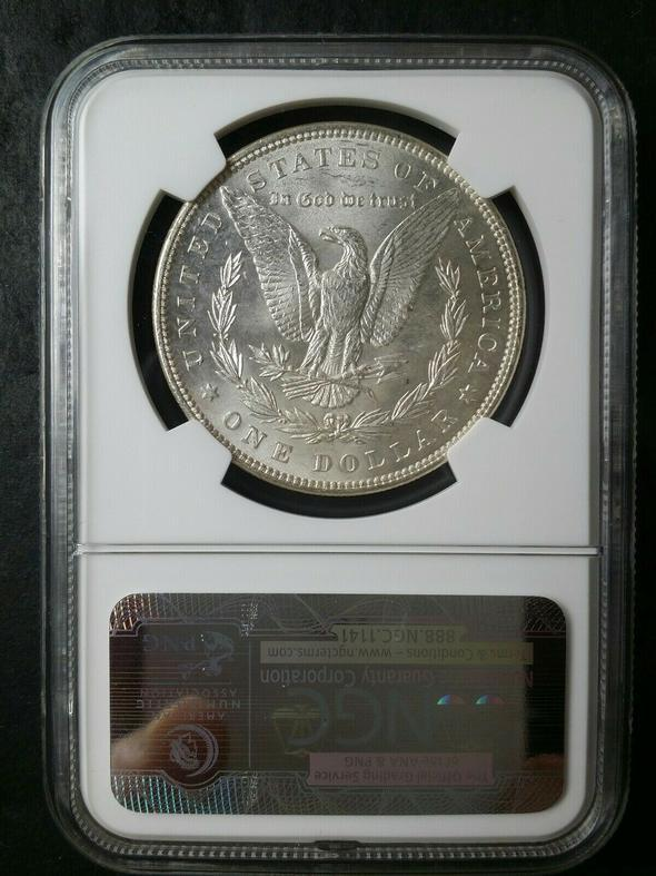 【Limited sale!!!】 1889 CC Morgan Dollar MS-63 NGC