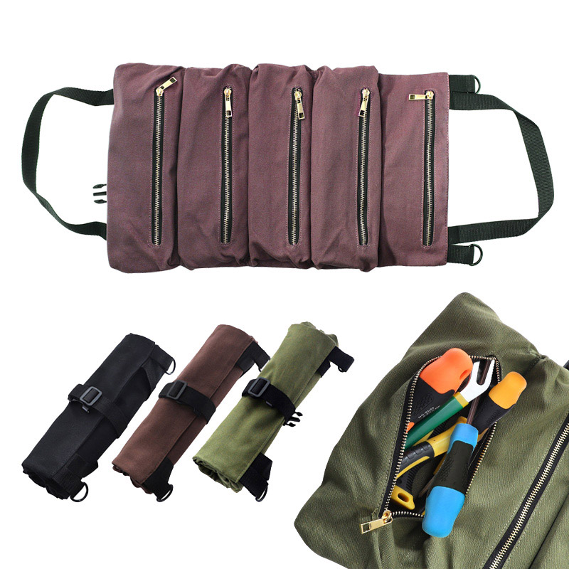Multi-purpose Tool Roll Up Bag 50%OFF