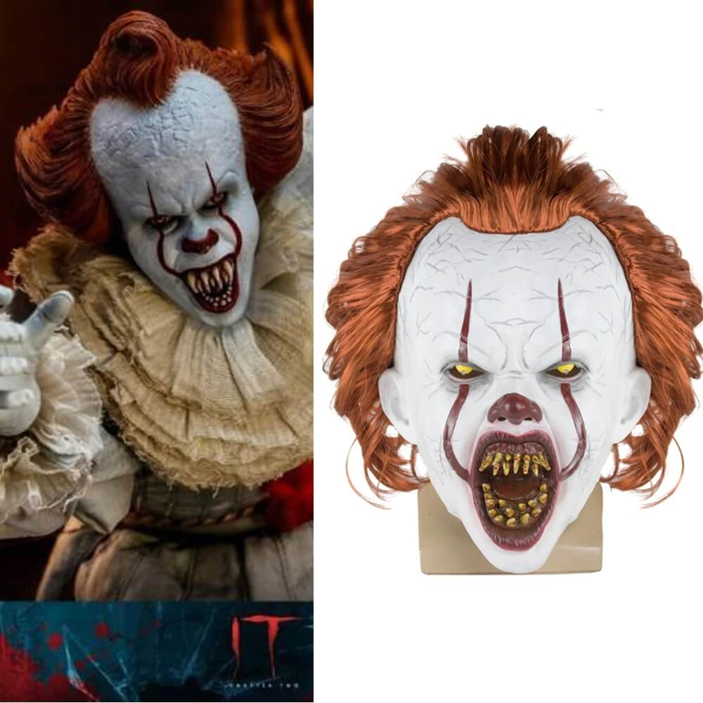 IT Movie Pennywise Gagtooth Adult Mask